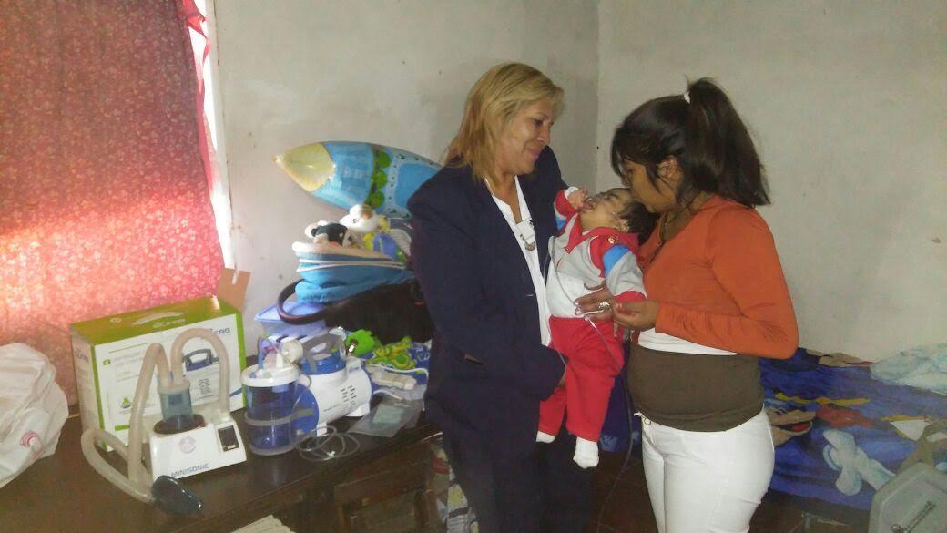La Cooperadora brindó asistencia a un bebé con severos problemas de salud