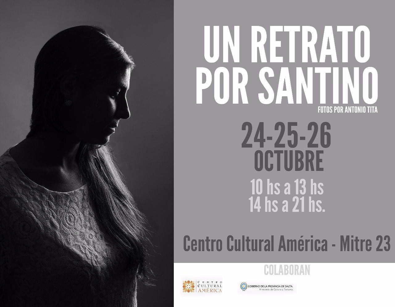 El fotógrafo Antonio Tita realizará sesiónes de fotos a beneficio de Santino
