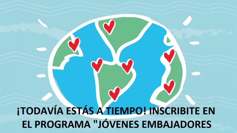 invitan a participar del programa Jóvenes Embajadores