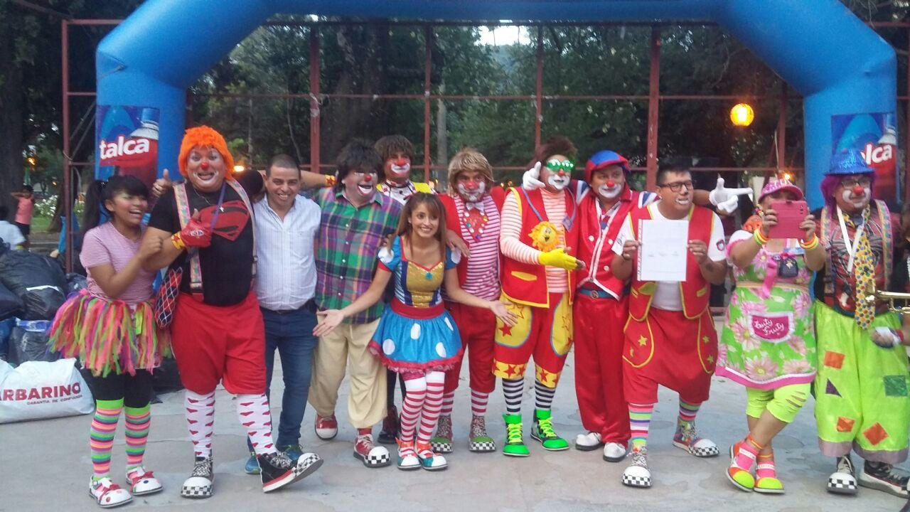 La asociación de payasos Aypas realizará la campaña de útiles escolares en el Parque San Martín