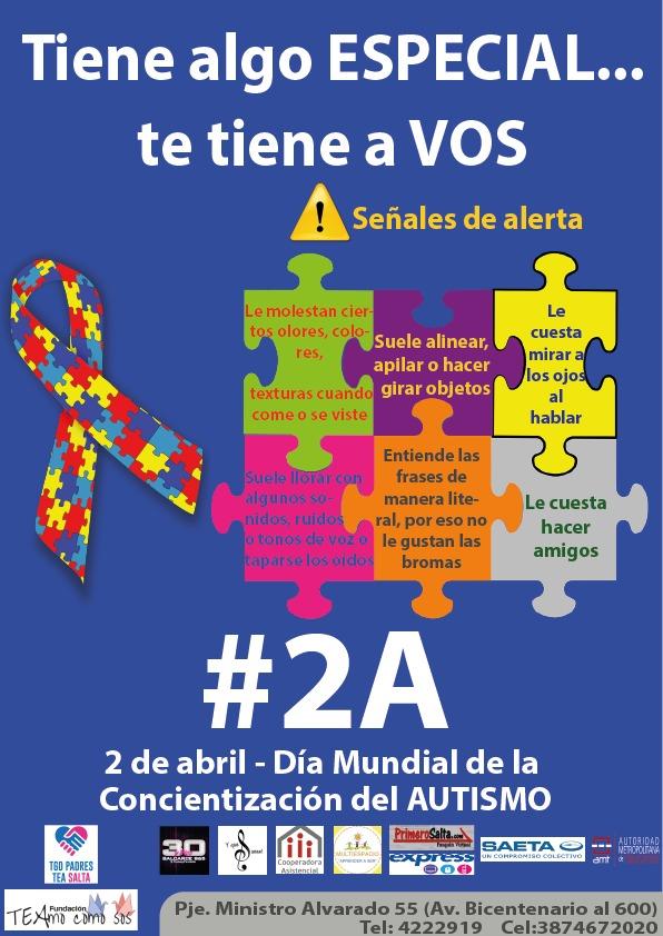 La Municipalidad se suma al Día Mundial de la Concientización del Autismo
