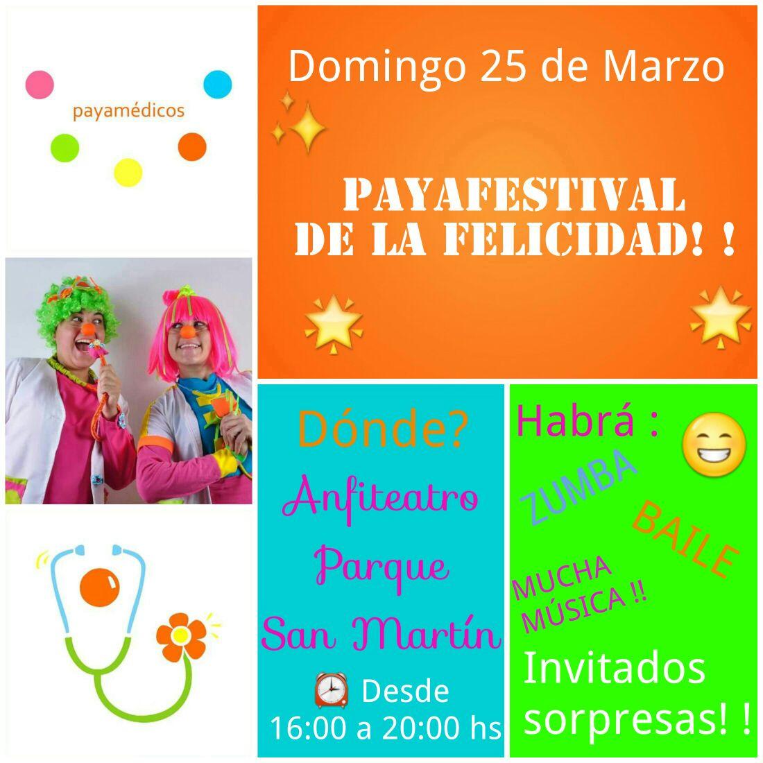 Los payamédicos celebrarán este domingo el Día de la Felicidad