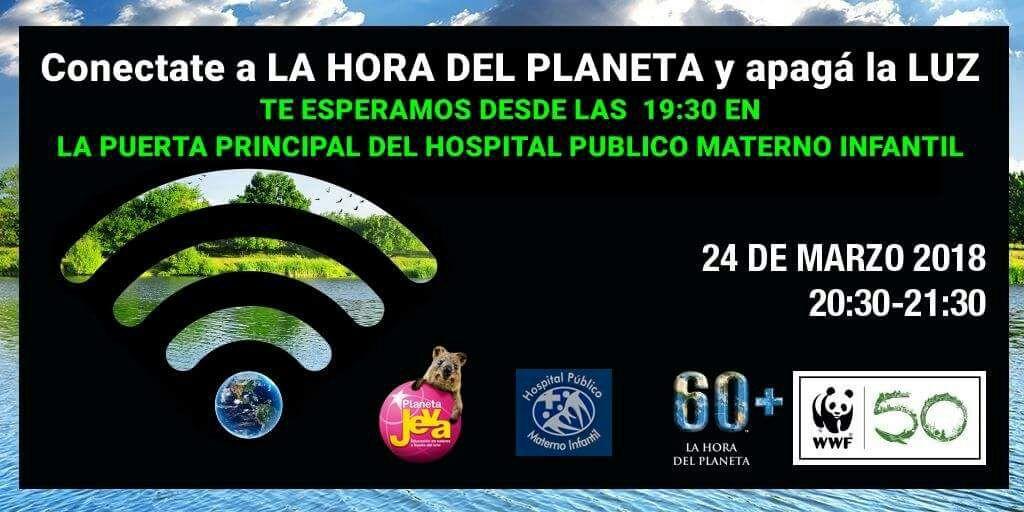 Niños y jóvenes de la  Fundación Planeta Jeva invitan a los salteños a sumarse a la Hora del Planeta