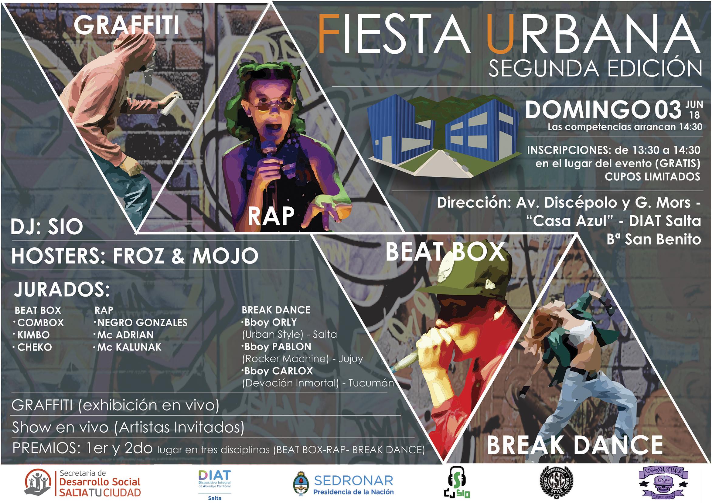 "El DIAT de San Benito prepara la ""Fiesta Urbana 2018"""