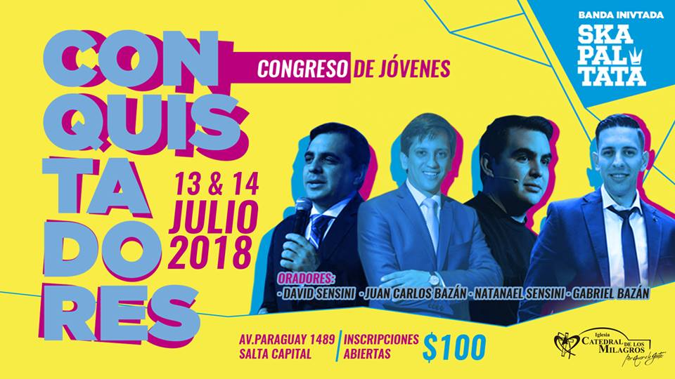 Se viene el Congreso de Jóvenes #Conquistadores