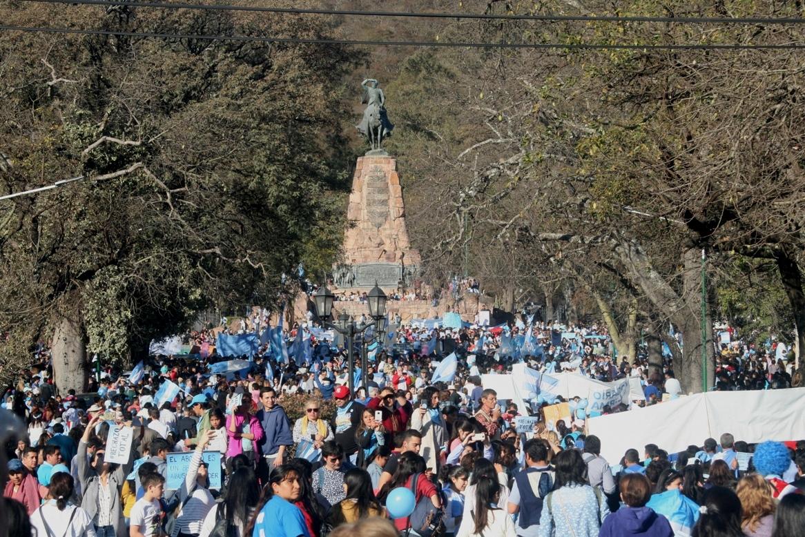 Más de 20 mil de salteños dijeron #SiAlaVida
