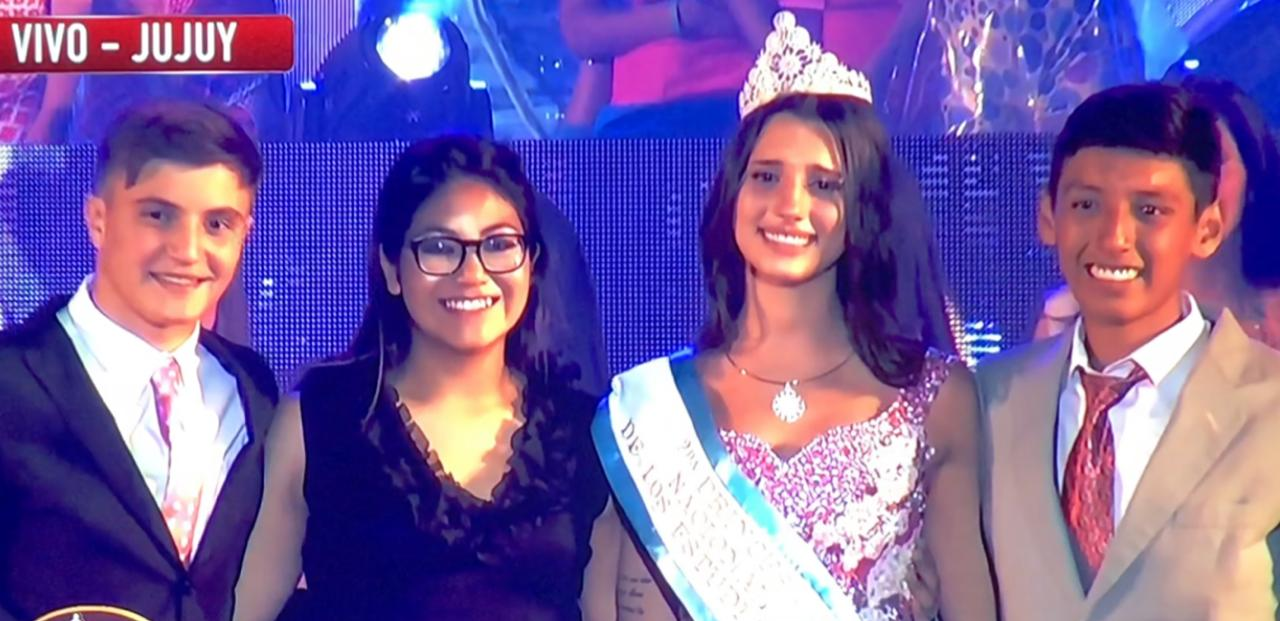 Renata Miotti  es princesa nacional de los estudiantes