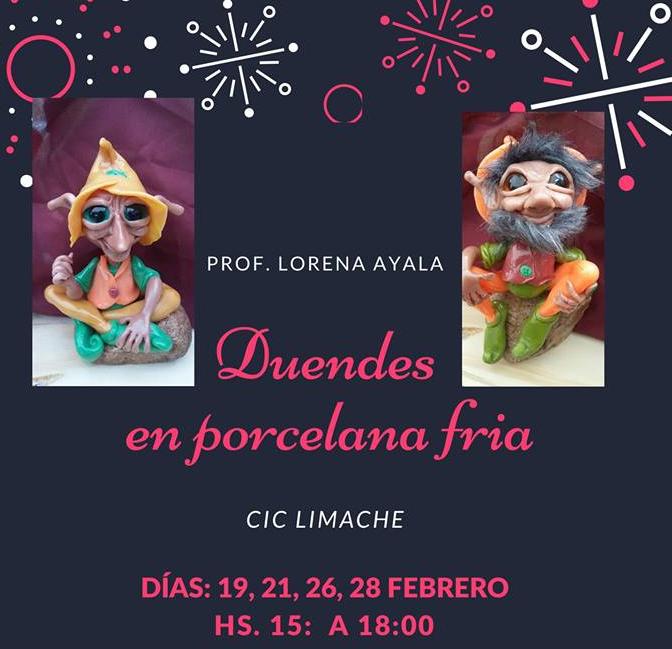 Curso gratuito de porcelana fría en  el CIC de Limache