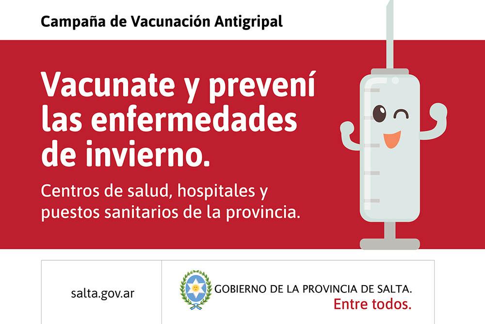 Los grupos de riesgo deben vacunarse contra la gripe