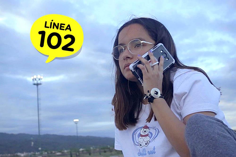 La LINEA 102 brinda atención a niños, niñas y adolescentes