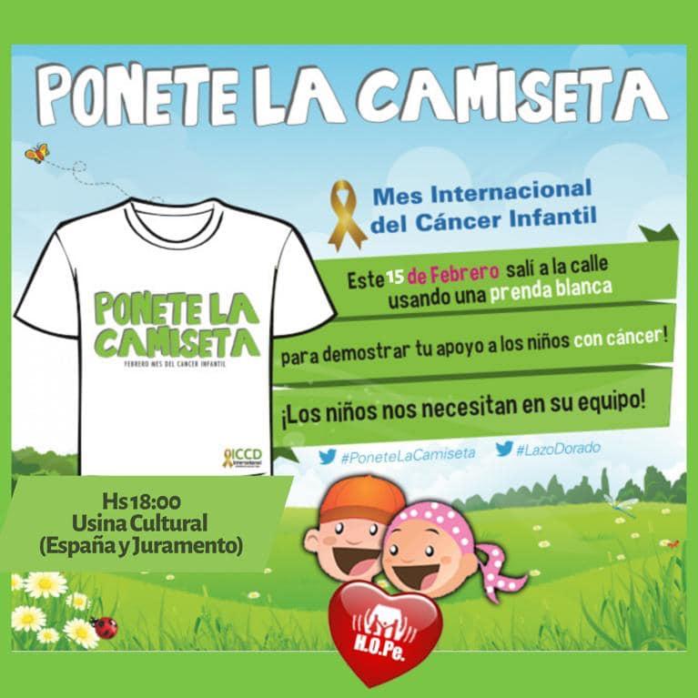 """Fundación H.O.Pe invita a todos los salteños a ser parte de la campaña """"Ponete la Camiseta"""""""