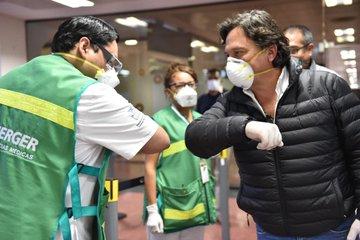 El Gobernador Sáenz donará su sueldo y creará un fondo solidario contra el coronavirus