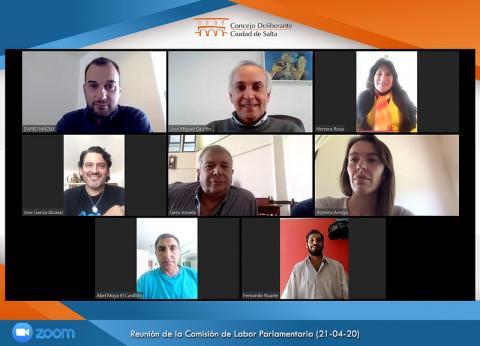 Hoy se realizará de manera virtual una nueva Sesión Ordinaria del Concejo Deliberante