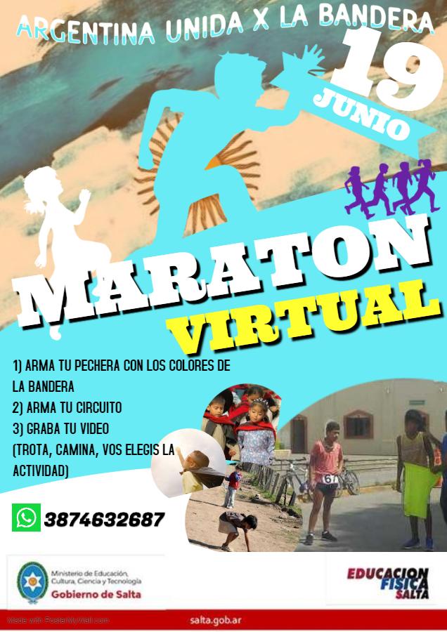 """Maratón Intercolegial """"Mis Primeros Pasos"""""""