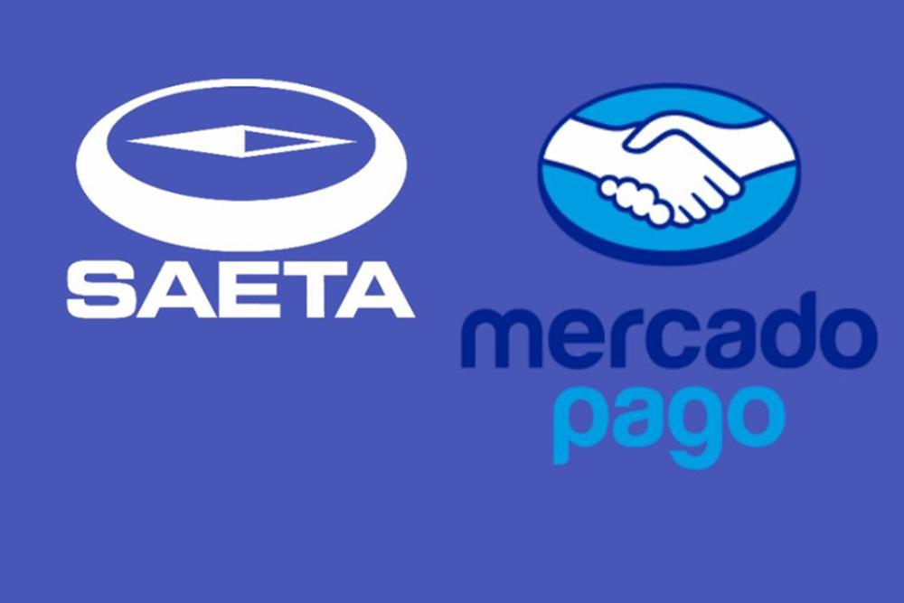Usuarios de SAETA pueden recargar saldo a través de Mercado Pago