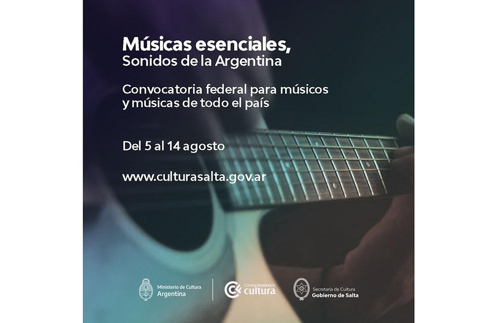 """Convocatoria abierta para """"Músicas esenciales, Sonidos de la Argentina"""""""
