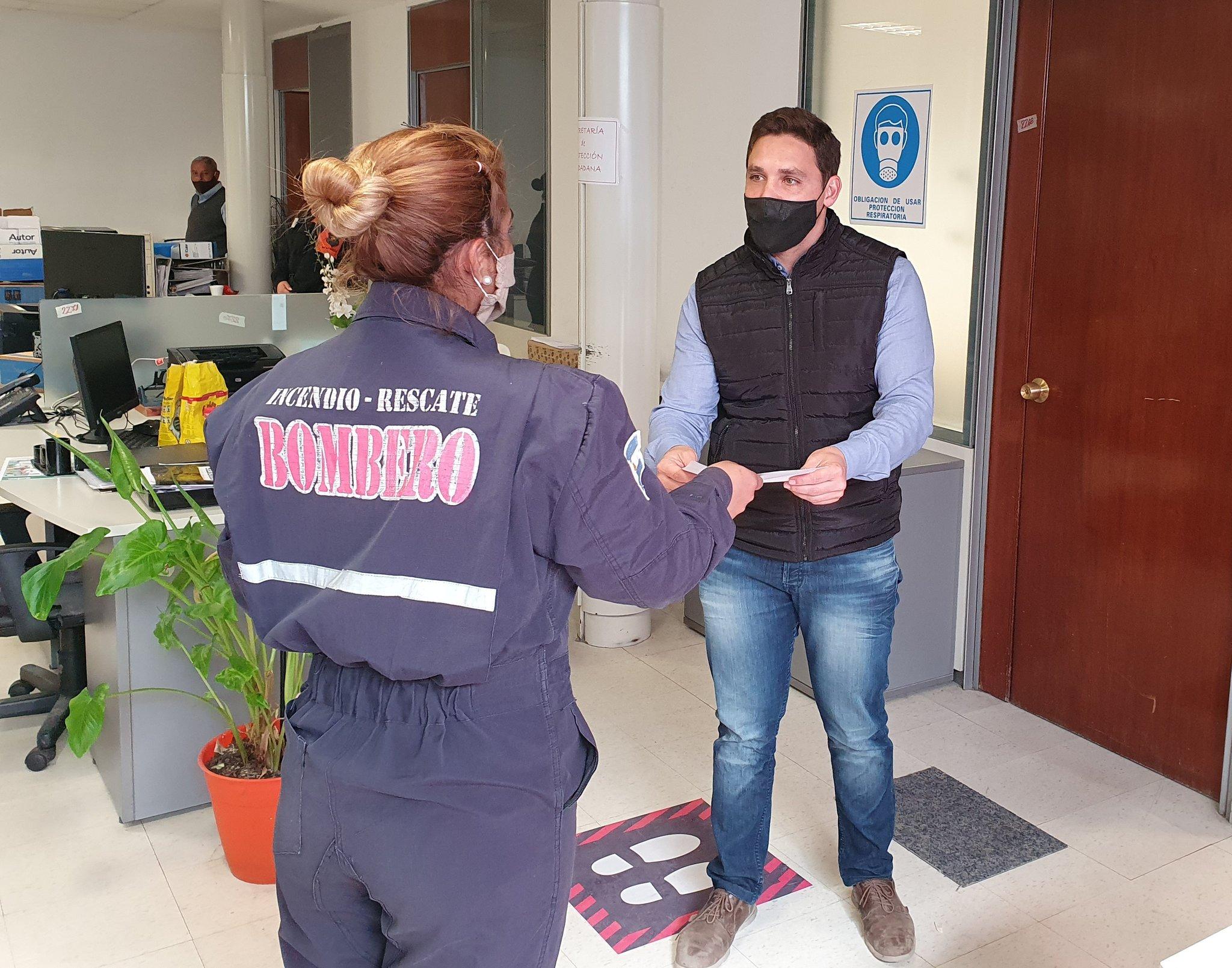La Asociación de Bomberos Voluntarios recibió el Fondo de Ayuda