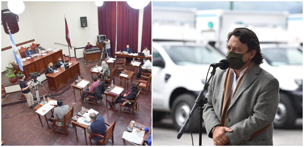Concejales brindan apoyo a la gestión de Sáenz