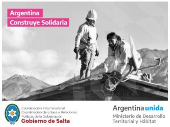 Argentina Construye Solidaria se presentará en los 60 municipios