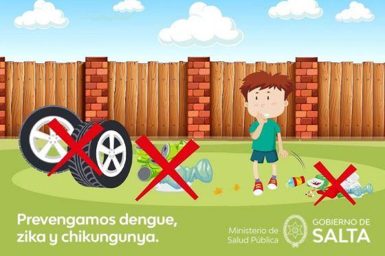 La población debe ser parte activa en la prevención del dengue, zika y chikungunya