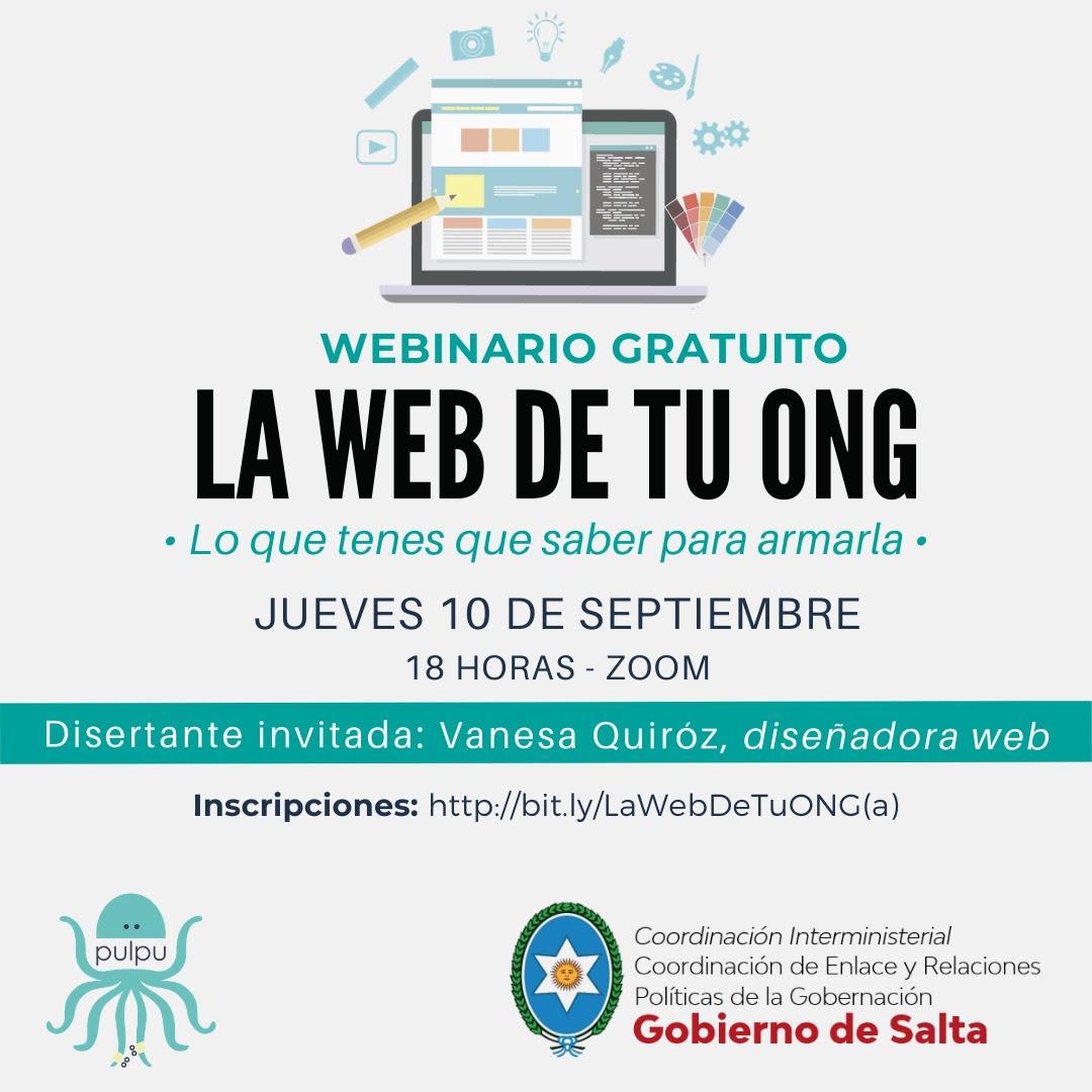 Enseñarán a diseñar páginas web para las Organizaciones Comunitarias