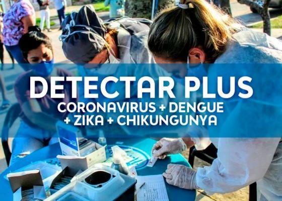 Comenzó  operativo DETECTAR Plus