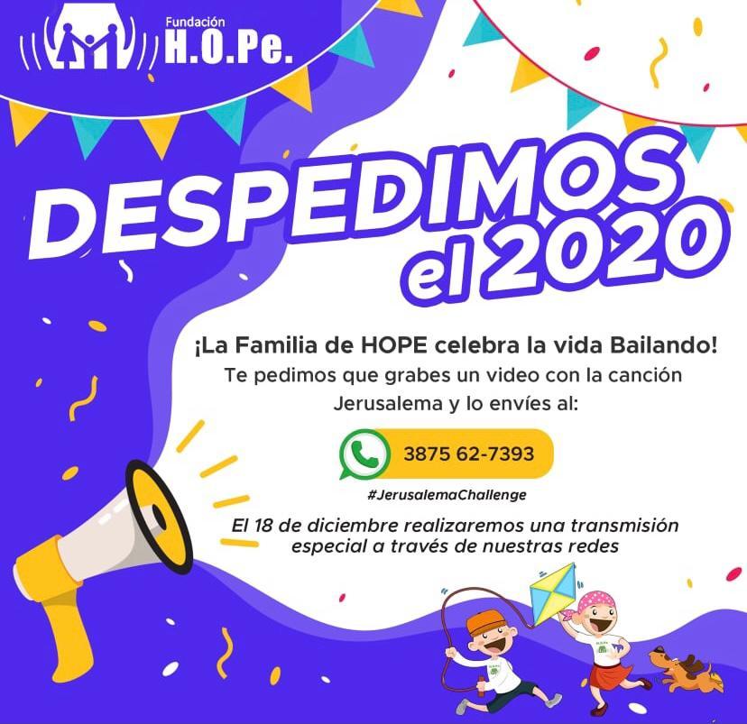 Fundación HOPe invita a celebrar la vida