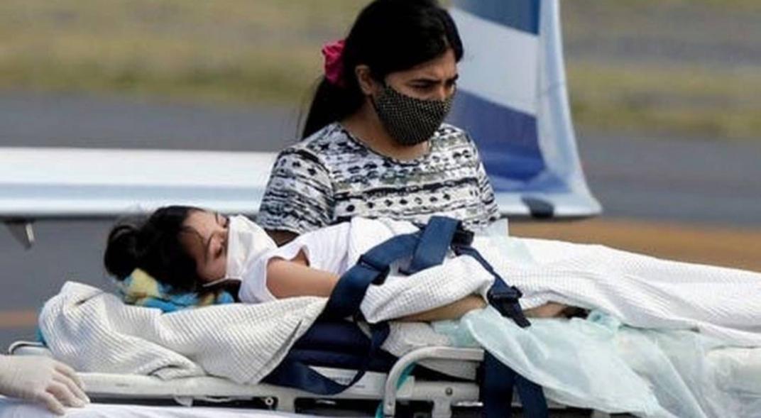 """Abigail volvió a Santiago del Estero y recibirá un """"tratamiento integral"""" en su casa"""