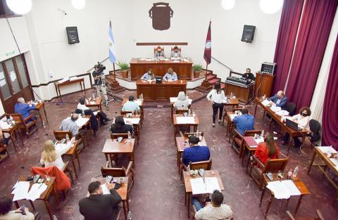 De manera presencial, se realizó una nueva Sesión Ordinaria del Concejo Deliberante