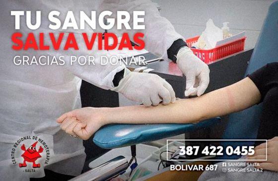 La donación de sangre contribuye a salvar vidas y a mejorar la salud
