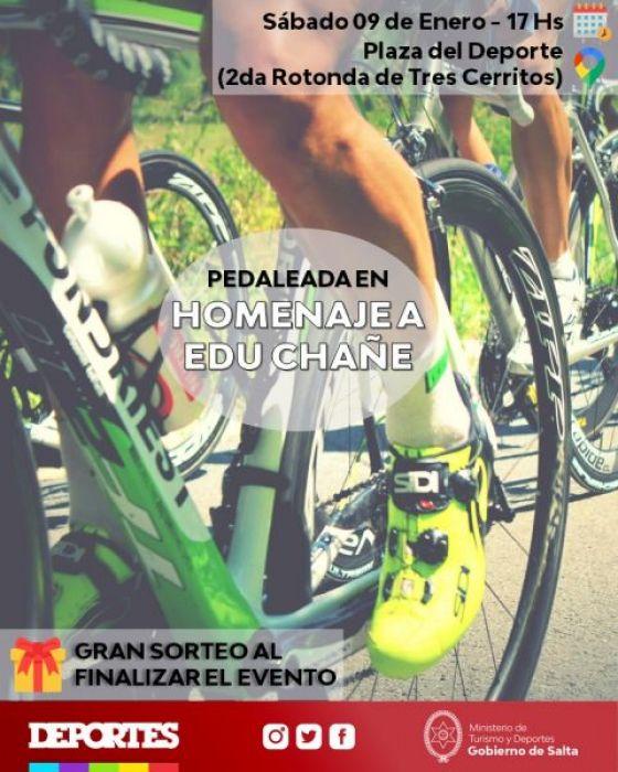 El grupo Ciclistas Unidos de Salta hará una actividad deportiva en homenaje a Eduardo Chañe