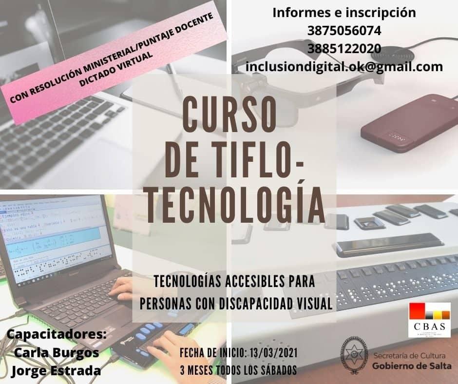 Curso sobre Tiflotecnología (Tecnologías Accesibles para personas con discapacidad Visual)