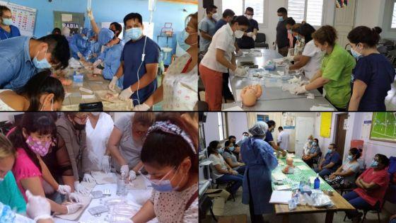 Más de 60 profesionales del norte provincial fueron capacitados para prevenir la deshidratación infantil