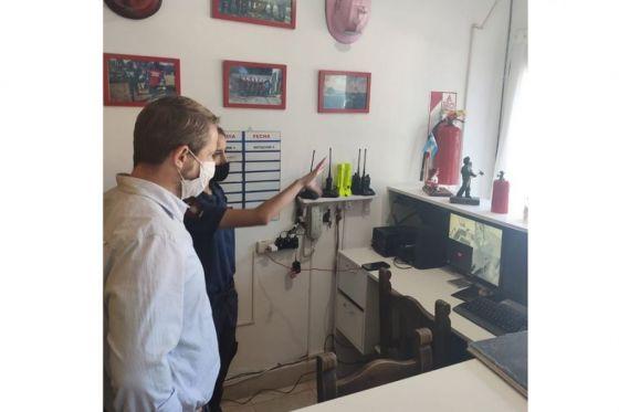 Defensa Civil articula acciones con cuarteles de Bomberos Voluntarios