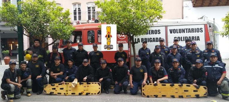 Los Bomberos Brigada Solidaria cumplen 15 años