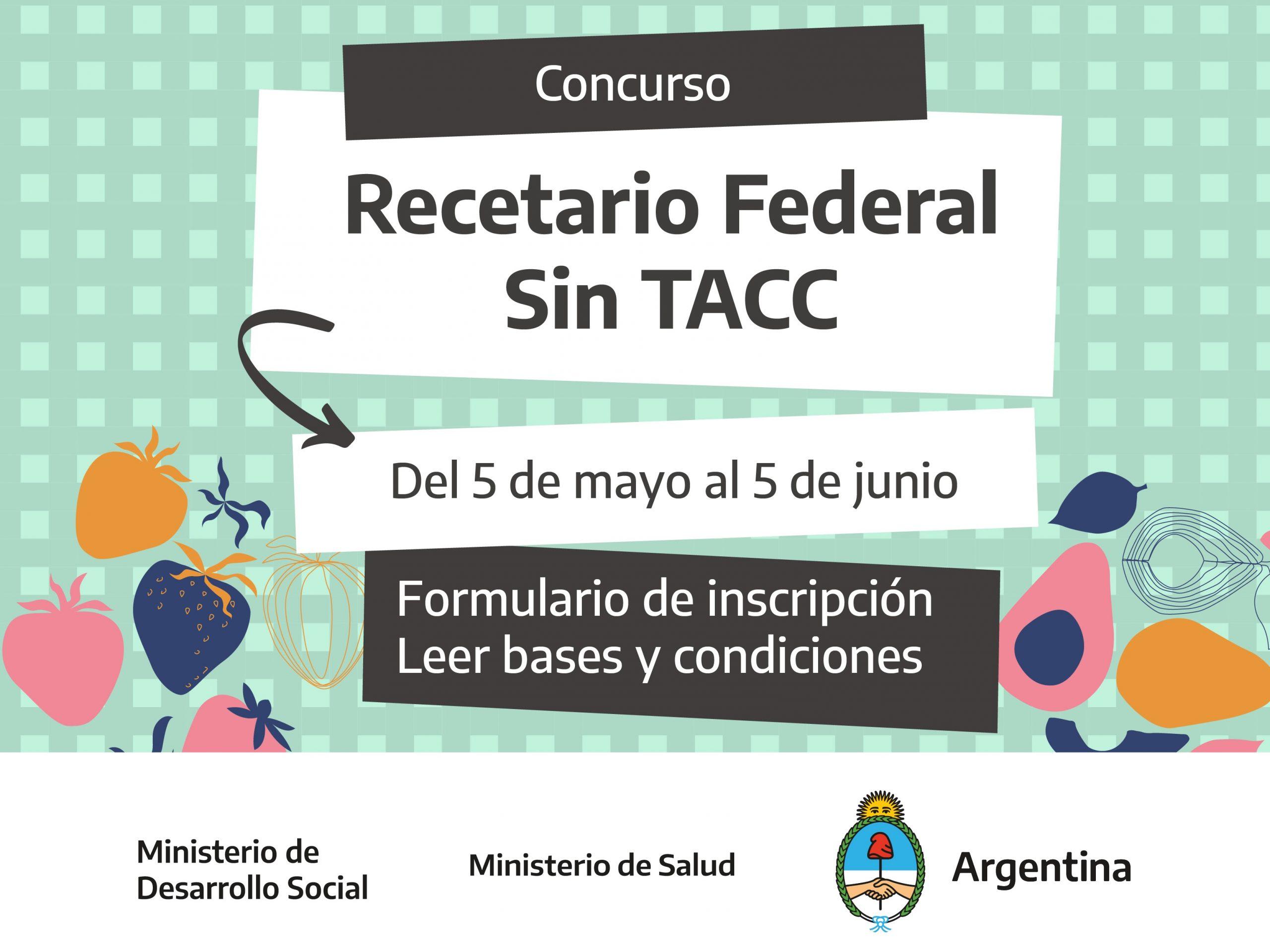 Sumate a participar de la formación del #RecetarioFederalSinTACC