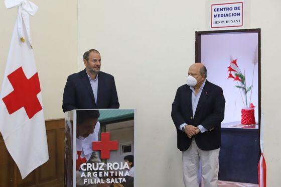 La Cruz Roja cuenta con un centro de mediación propio