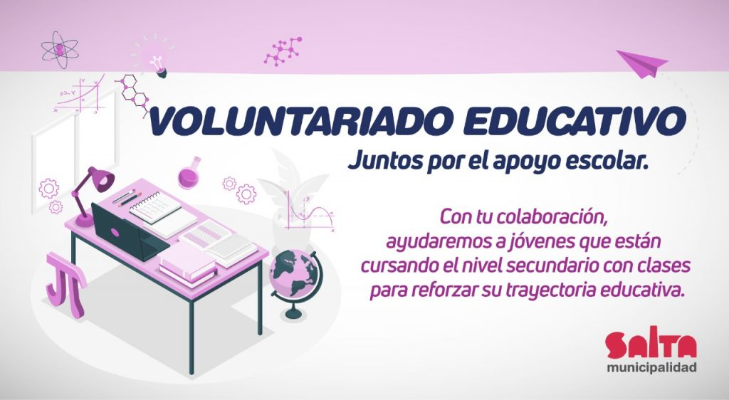 Convocatoria para formar parte del Voluntariado Educativo