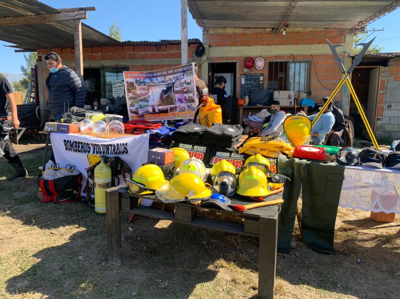 La Brigada Solidaria celebró el Día Nacional del Bombero Voluntario