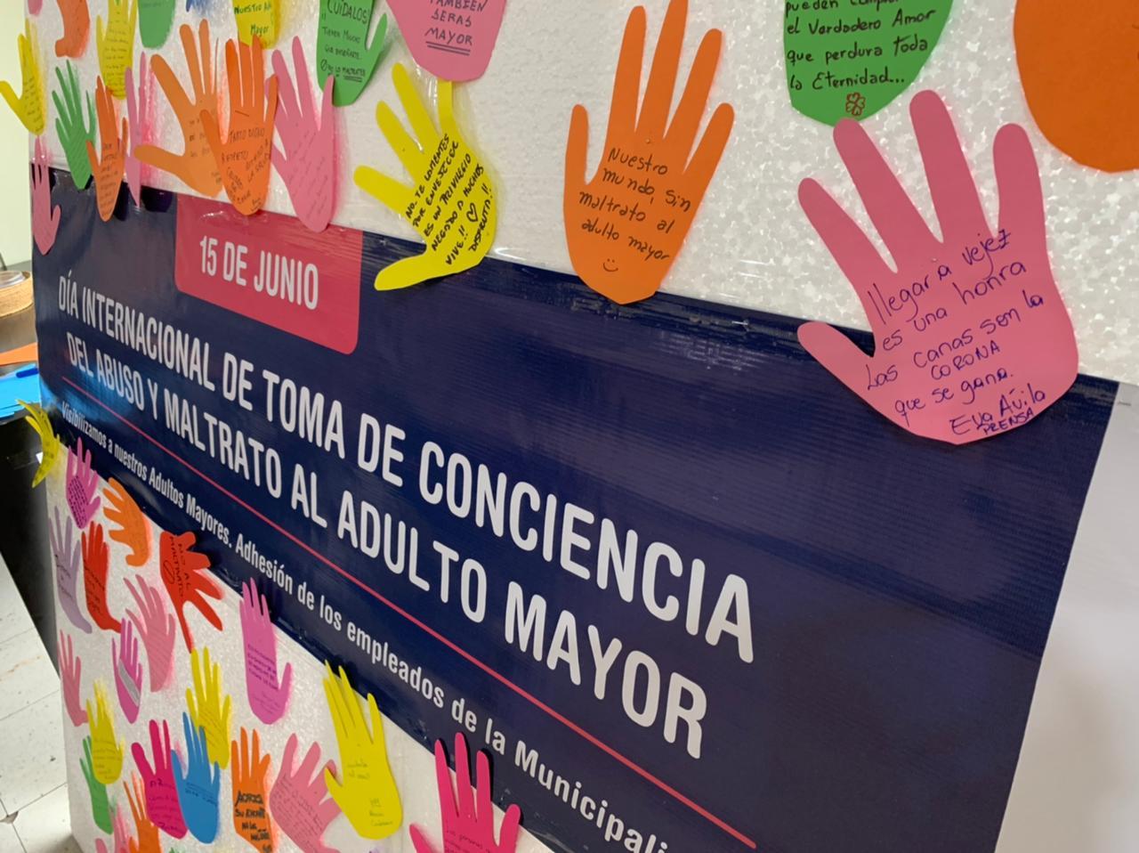 Desde el municipio se promueve la toma de conciencia sobre el abuso y maltrato en la vejez