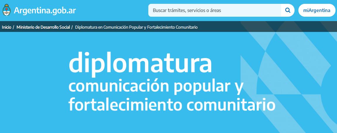 Salta Positiva forma parte de la Diplomatura en Comunicación Popular y Fortalecimiento Comunitario