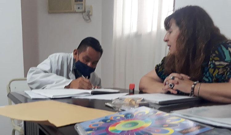 Un maestro de la etnia ava- guaraní es el nuevo director de la escuela de Misión San Francisco