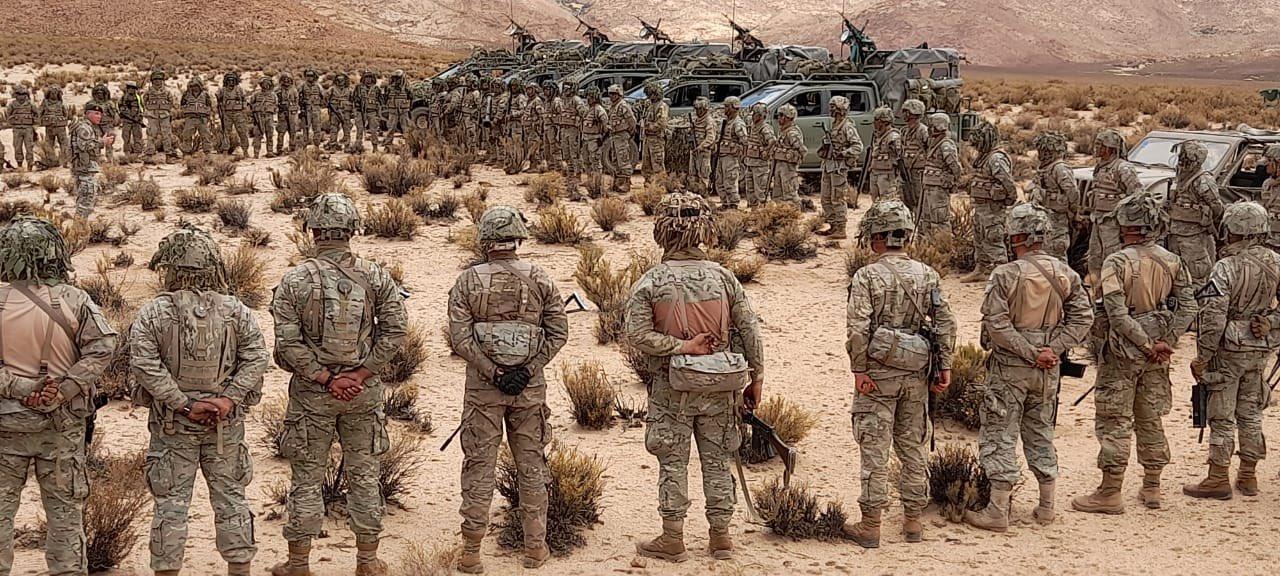 Las mejores postales del Ejército Argentino durante el ejercicio General Arias en Salta y Jujuy
