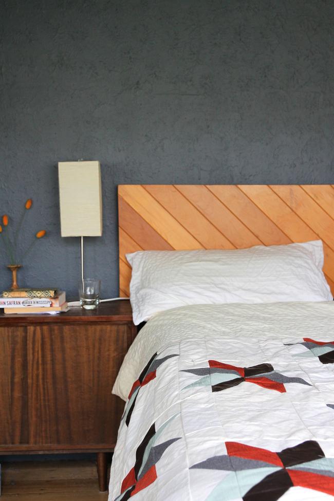 star quilt bedside