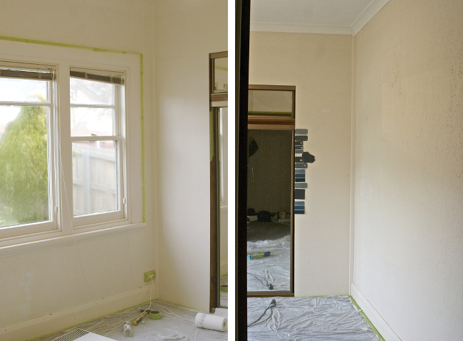 Master bedroom, before