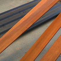 baseboard stained