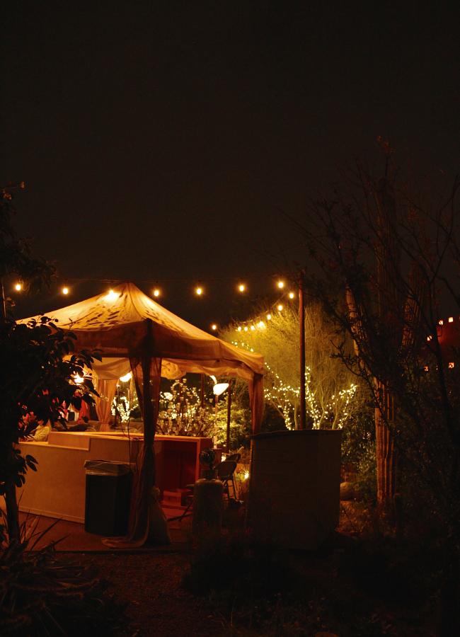Festival stand, Desert Botanical Garden