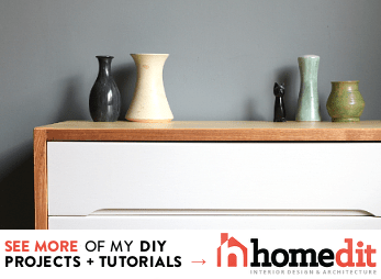 See more of my DIY projects on Homedit!