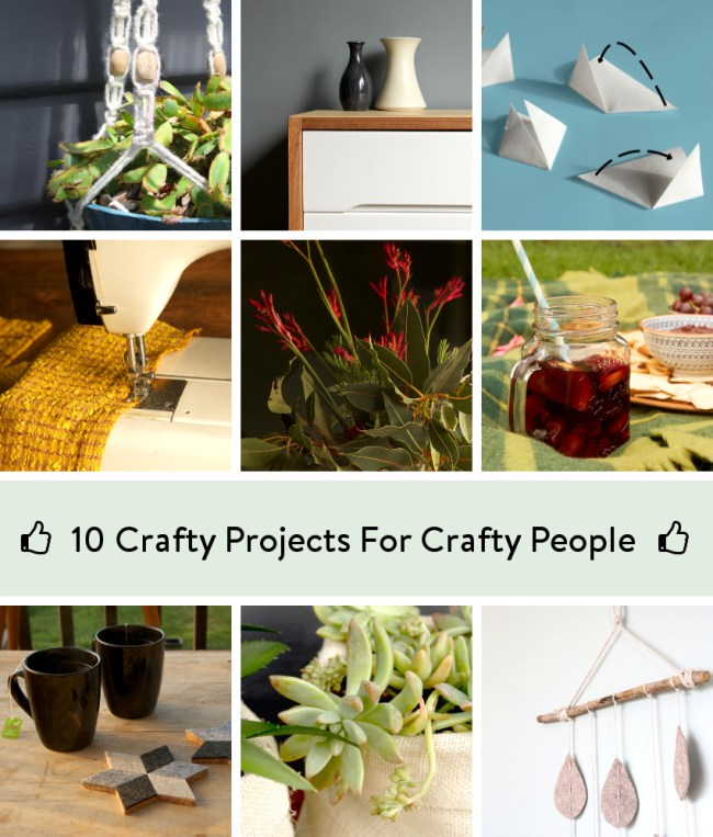 10 Craft Project Ideas For Crafty People | Saltbush Avenue
