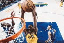 Favors, Jerebko Lead the Way in Jazz's Rout of Nuggets